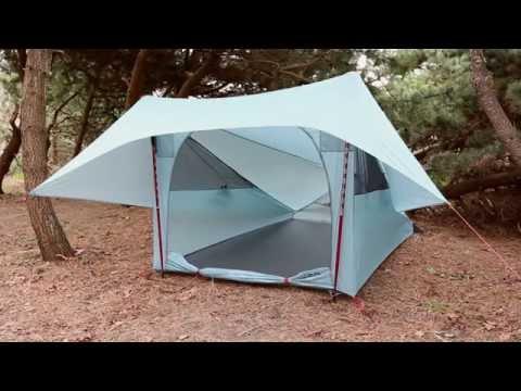 MSR Shelter: FlyLite Tent Setup