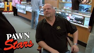 Pawn Stars: Sen. Pat McCarran's Senate Floor Chair | History - HISTORYCHANNEL