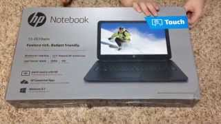 HP Touch Screen Notebook Computer - Customer Review - Demonstration