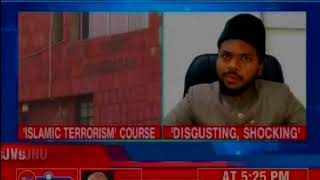 AMU opposes proposed 'Islamic terror' courses in JNU, urges HRD Min Prakash Javadekar to intervene - NEWSXLIVE