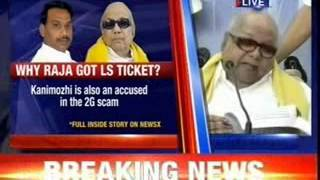 Why Raja got a Lok Sabha ticket ? - NEWSXLIVE