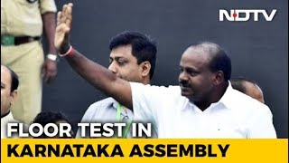 Kumaraswamy's Floor Test Today, BJP In Race For Speaker's Post - NDTV