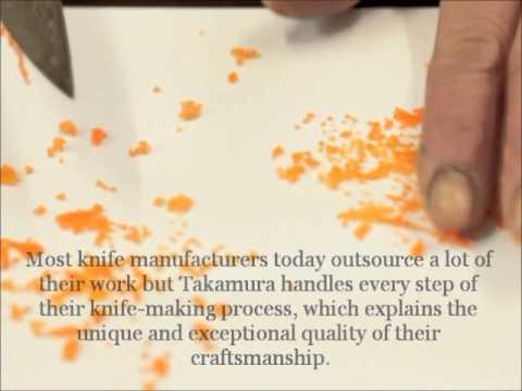 Takamura Hana Damascus HSPS Gyuto: Fine knife skills with Terukazu Takamura