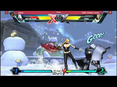 East Coast Throwdown 5:  Ultimate Marvel VS Capcom 3 JRosa vs Golba Loves