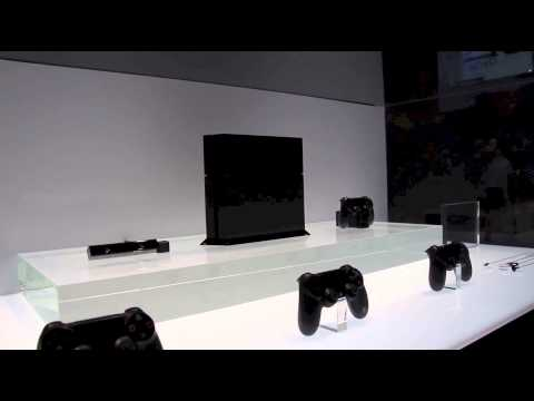 We turn our camera towards Sony's recently unveiled PlayStation 4