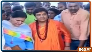 Sadhvi Pragya ने दिया चुनाव आयोग के नोटिस का जवाब, कहा मैंने किसी शहीद का अपमान नहीं किया - INDIATV