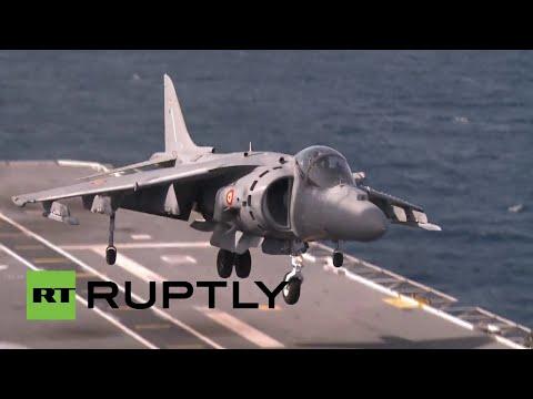 ¿Justificación Noble?: ejercicios navales de la OTAN en el Mediterráneo
