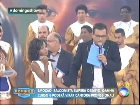 Ellen Manu - Oh Happy Day! (Domingo Show Com Geraldo Luis)