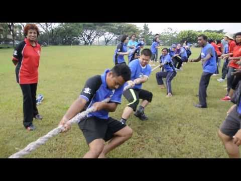 Cempaka Yearbook 2013 : Senior Games Carnival : Tug of War : Beruang