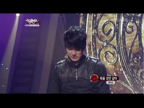 [Live 1080p] Hwanhee - Love Pain 110729 Comeback stage Mu(sic)Ba(nk)