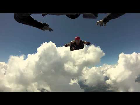 Skydiving in the Clouds: Just Another Day at the Office