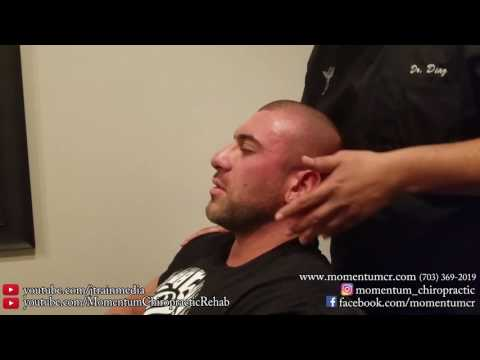 JUST ADJUSTMENTS - Chiropractic Adjustment on a Competitive Bodybuilder