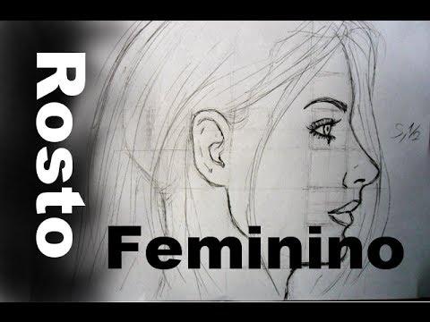 02 Perfil - Rosto Feminino - Como Desenhar!