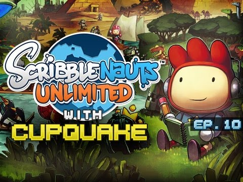 """CHASTITY QUAKE"" Scribblenauts Unlimited Ep 10"