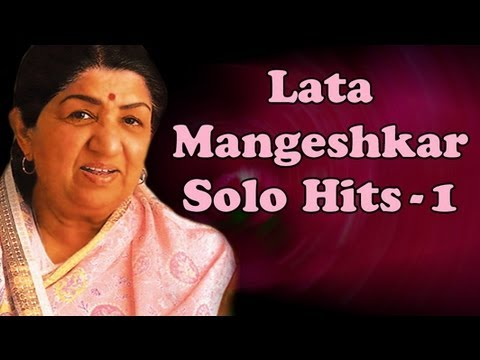Lata Mangeshkar Solo Superhit Songs - Vol 1 - Evening With Lata Mangeshkar