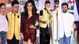 Sunny Leone,  Manushi Chhillar, Rekha Among Others Grace Dabboo Ratnani's 2018 Calendar Launch - ZOOMDEKHO