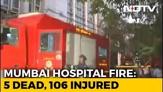 5 Dead, Around 100 Rescued After Fire At Hospital In Mumbai's Andheri - NDTV