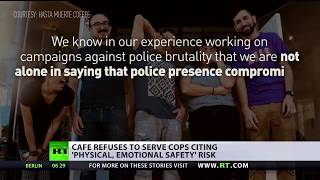No donuts for cops? US café refuses to serve police officers - RUSSIATODAY