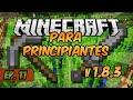 E11 | Plantío de Caña de Azúcar y Criadero de Gallinas xD!! | Minecraft para Principiantes 1.8.3