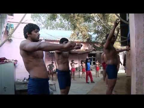 Indian Wrestling - Hanuman Akhara