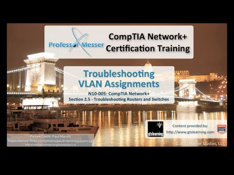 CompTIA Network+ N10-005: 2.5 - Troubleshooting VLAN Assignments