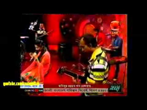 bangla new song 2014 Ektu Ektu kore aro kache by Porshi  Live