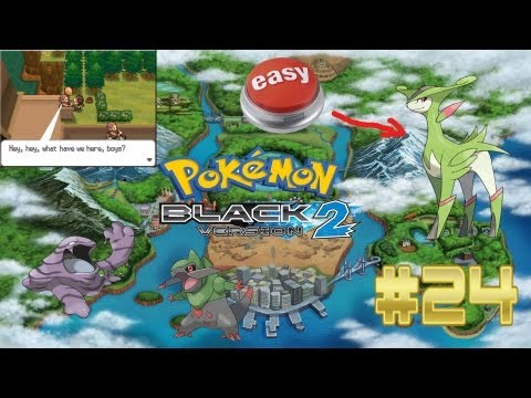 Pokemon Black 2 - Part 24: Suddenly, Virizion! (Starters Only)