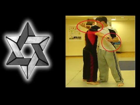 KRAV MAGA: Knife Defense Series- Straight Knife Stab to Center of Mass