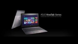 Asus VivoTab RT Tablet Review - Part 1 Video