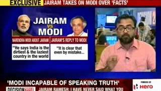 Narendra Modi said Jairam 'insulted' India in foreign land - NEWSXLIVE