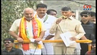 AP CM Chandrababu Naidu Road show Live | Uppal | CVR News - CVRNEWSOFFICIAL