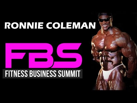 Ronnie Coleman (Mr. Olympia) at Fitness Business Summit with Bedros Keuilian