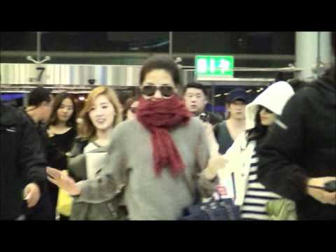 Fancam 120213 Suvarnabhumi Airport - Departure