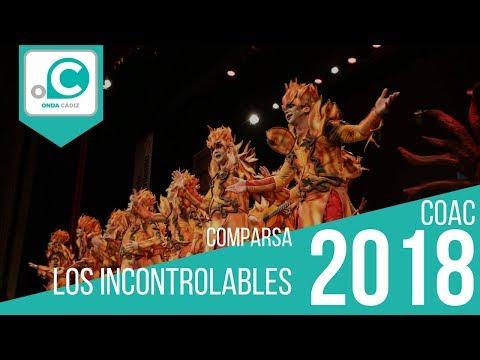 Sesión de Preliminares, la agrupación Los incontrolables actúa hoy en la modalidad de Comparsas.