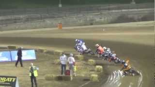 Johnny Lewis - Hagerstown Track Walk - AMA Pro Flat Track