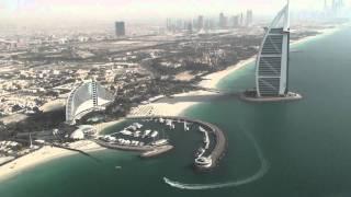 Śmigłowcem nad Dubajem
