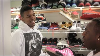 Nick Young Shows Off Crazy Sneaker Collection