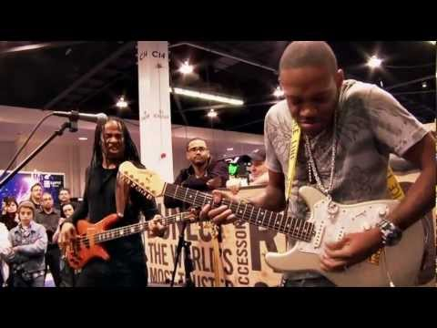 Live From NAMM 2013: Eric Gales & Doug Wimbish (Part 2) At The Dunlop Booth