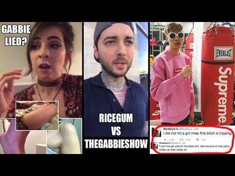 RiceGum and TheGabbieShow What Actually Happened!