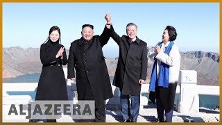 🇰🇵 🇰🇷 North Korea's Kim agrees to 'dismantle' key missile test sites | Al Jazeera English - ALJAZEERAENGLISH