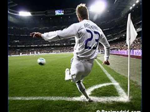 David Beckham w barwach Realu Madryt