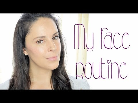 My face routine | Silvia Quiros