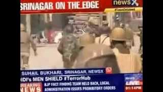 Clashes erupt in J&K over Yasin Malik's arrest - NEWSXLIVE