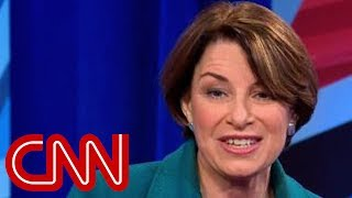 This is the question Amy Klobuchar says she'd ask Trump - CNN