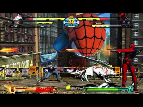 Trailer - MARVEL VS. CAPCOM 3: FATE OF TWO WORLDS &quot;Amaterasu Gameplay&quot; for PS3 and Xbox 360