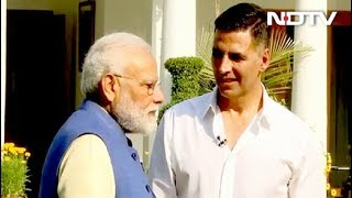 अक्षय कुमार से बोले पीएम मोदी- पेड़ पर पके आम खाना ज्यादा पसंद - NDTVINDIA