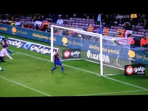 BARCELONA 4 RAYO 0 DOS GOLES DE ALEXIS SANCHEZ.wmv