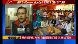 West Bengal: Ghar Wapsi - 100 tribal Christians converted to Hinduism - NEWSXLIVE