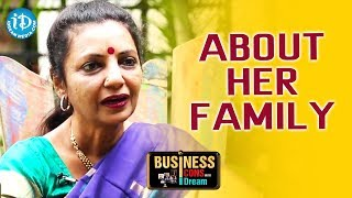 Sailaja Suman About Her Family || Business Icons With iDream - IDREAMMOVIES