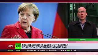 'Merkel's time as politician is over now' -  German MP - RUSSIATODAY